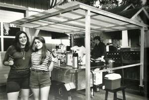 Ume Grill Cart in original location in Eugene