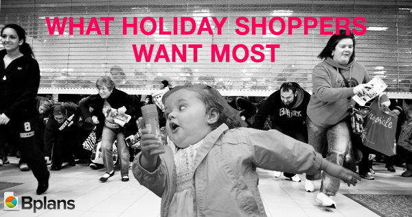 holiday shopping madness