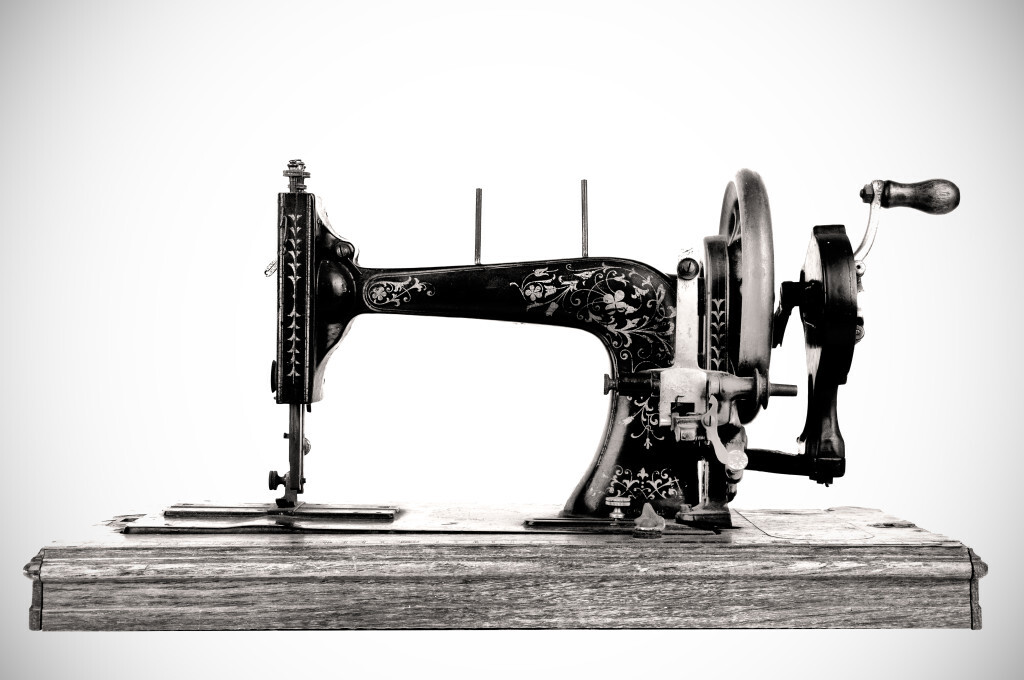 The History Of Franchising As We Know It Bplans Mesmerizing How Was The First Sewing Machine Made